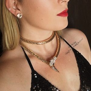 Jewelry - Snake Wrap Necklace